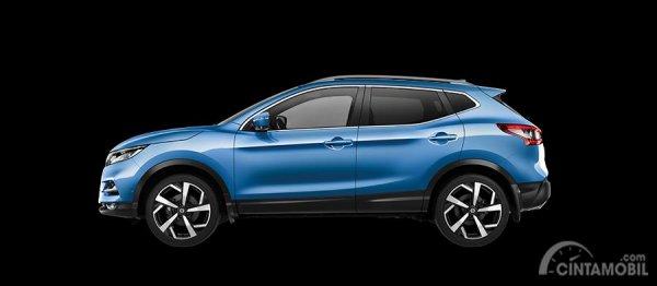 Nissan Qashqai 2019 tipe N-Tec dan Ti memiliki tampilan yang serupa