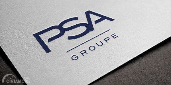 Gambar yang menunjukan logo perusahaan PSA