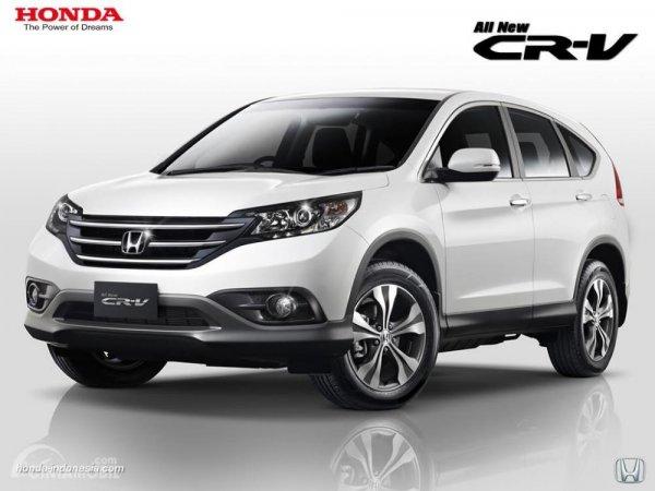 Tampilan eksterior Honda CR-V