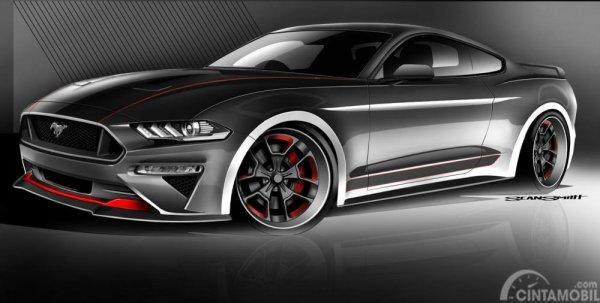 Foto CGS Motorsports Ford Mustang halus dan elegan