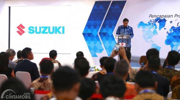 Menteri Perindustrian Membuka Acara Ekspor Perdana All New Suzuki Ertiga