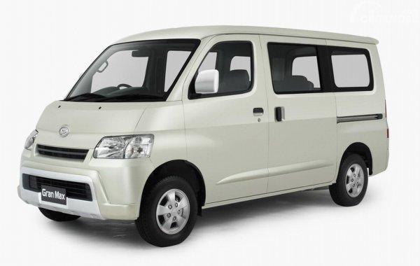 Daihatsu Gran Max berwarna putih lebih banyak digunakan untuk niaga