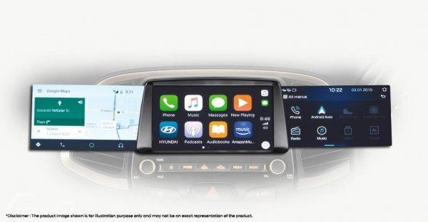 Gambar menunjukkan fitur Audio Hyundai Santro 2019