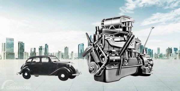Tipe A merupakan mesin pertama Toyota