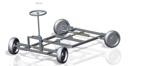 Cara kerja Four-Wheel Steering digunakan oleh mobil-mobil Premium