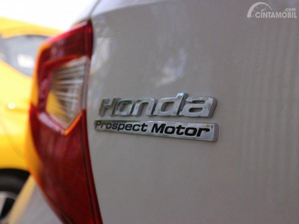 Tampak Logo Honda Prospect Motor