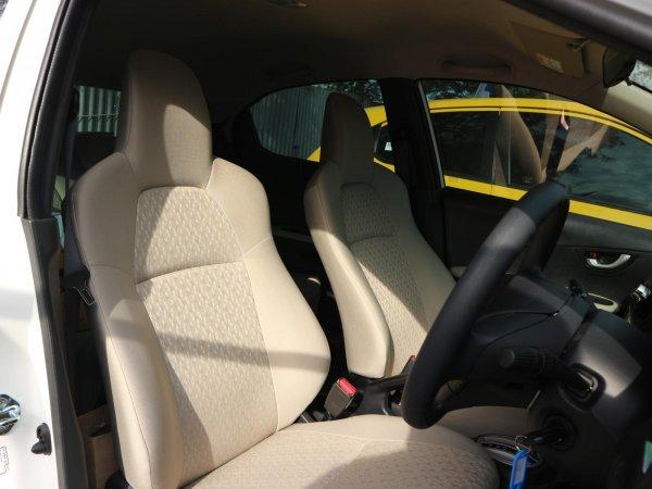 Tampak sebuah layout kursi All New Honda Brio Satya 2018