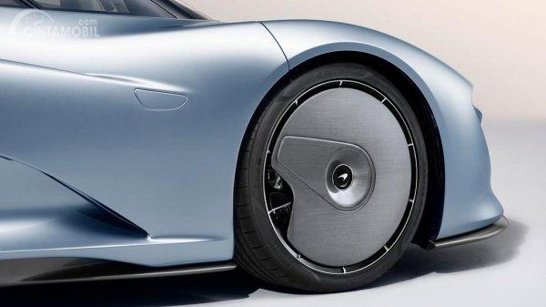 Tampak Pelek McLaren Speedtail sisi depannya
