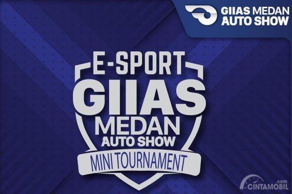 Gambar yang menunjukan logo e-sport di GIIAS Medan 2018