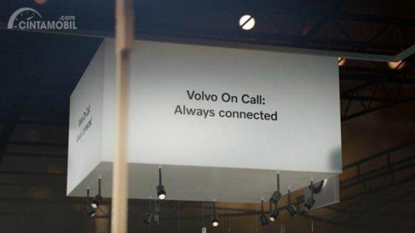 Gambar pengembangan Volvo dalam acara
