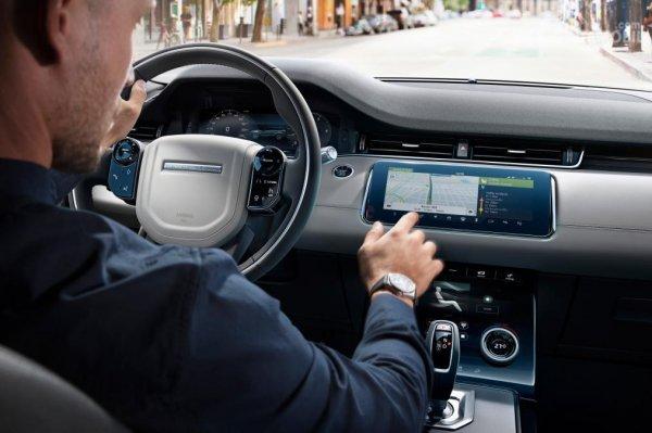Setir Land Rover Evoque 2019 menerapkan mode tiga palang