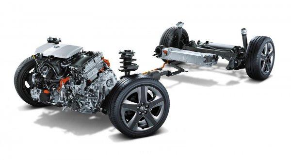 Gambar powertrain Toyota Prius