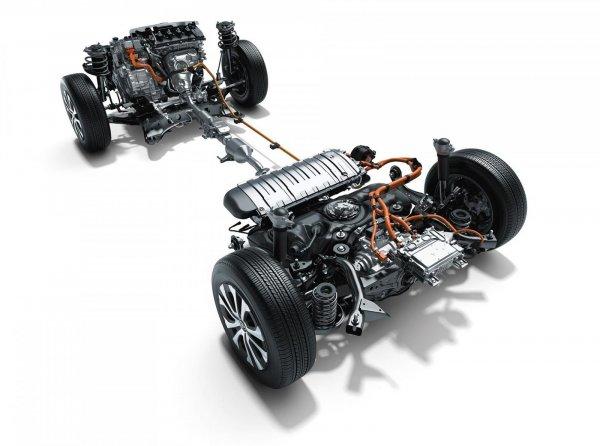 Gambar sistem penggerak Toyota Prius
