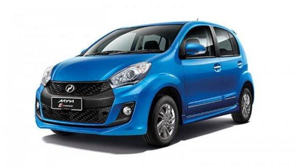 Perodua Myvi menjadi mobil yang diadopsi desainnya untuk Sirion