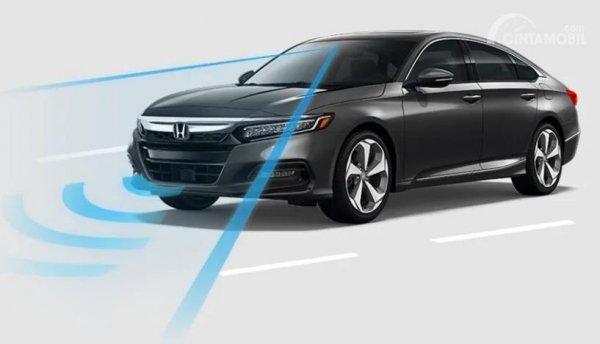 Gambar fitur Honda Sensing di Accord Turbo