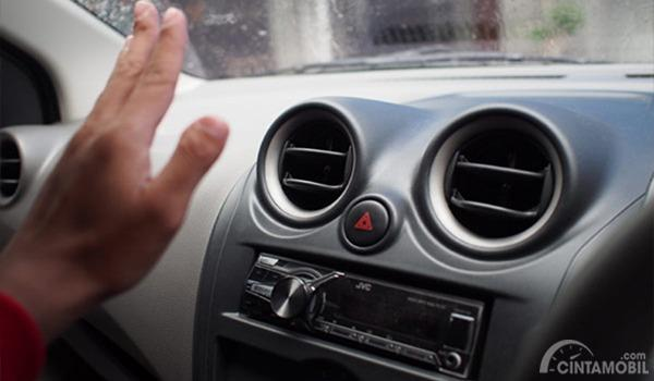 Gambar pengecekan AC Datsun GO+ Panca