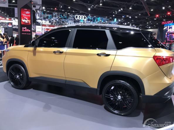 Gambar menunjukkan bagian samping All New Chevrolet Captiva 2019