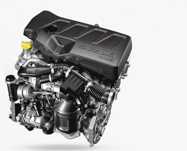 Gambar menunjukkan Mesin DDiS 225 pada mobil Suzuki Ertiga Diesel 2019