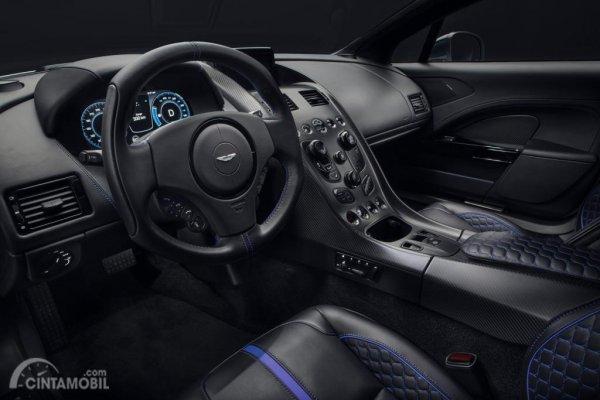 Foto penampilan interior mobil Aston Martin Rapide E 2019