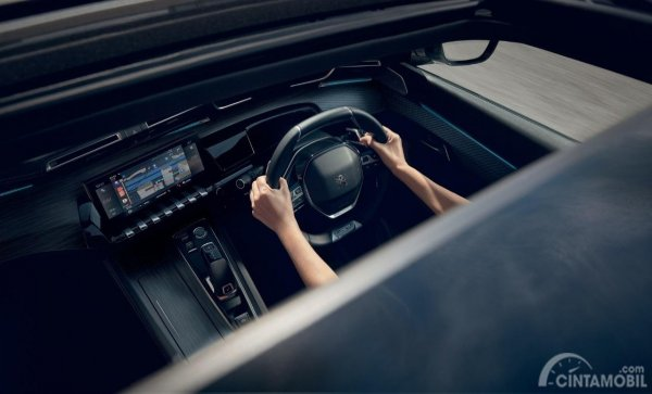 Gambar bagian Setir pada mobil All New Peugeot 508 SW 2019