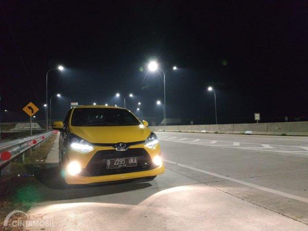Foto tampilan depan Toyota Agya TRD-S 2017