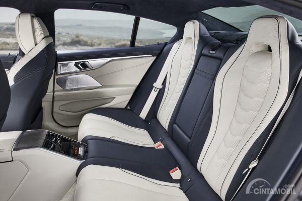 Bentuk rear cabin pada mobil BMW M850i xDrive Gran Coupe 2019