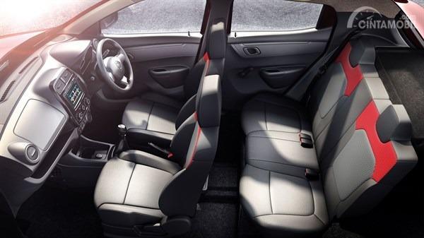 Gambar menunjukkan Konvigurasi Jok Renault Kwid Icon 2019