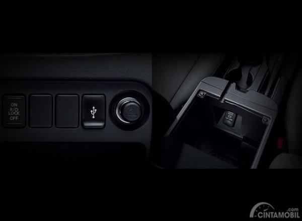 Gambar menunjukkan Colokan USB Mobil New Triton 2019