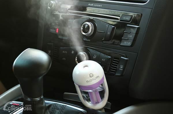 pengharum mobil jenis spray