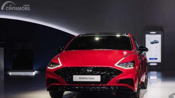 Hyundai Sonata 1.6 Turbo 2020 warna merah