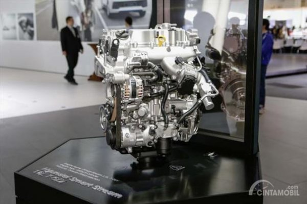 Mesin Hyundai Smartstream dengan teknologi CVVD