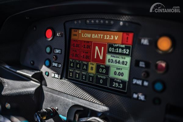 Cluster Multi Information Display Ferrari 488 GTE EVO 2018