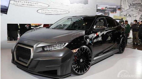 Honda Civic Type R Mugen masih dalam tahap perkenalan, belum mendapat informasi detail soal harga