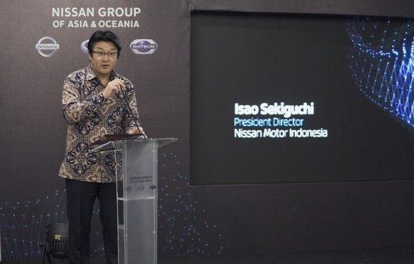 Foto Isao Sekiguchi, Presiden Direktur PT Nissan Motor Indonesia