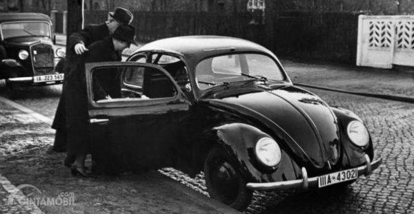 Desain VW Beetle tahun 1940-an