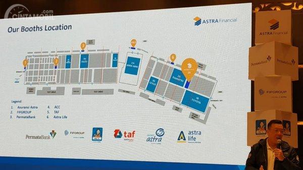 Inilah dia enam booth Astra Financial Group di GIIAS 2019