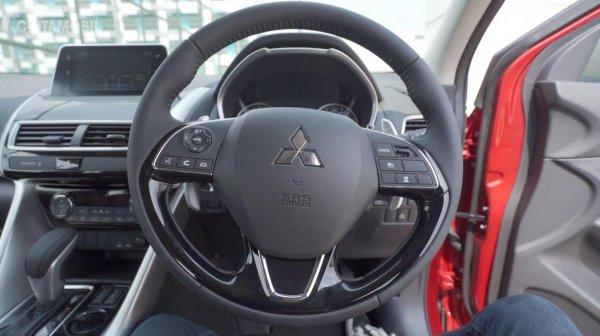 Tampilan setir  Mitsubishi Eclipse Cross 2019