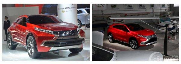 Konsep awal Mitsubishi Eclipse Cross 2019
