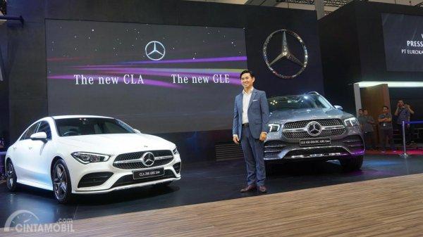 Dua produk baru Mercedes-Benz di GIIAS 2019
