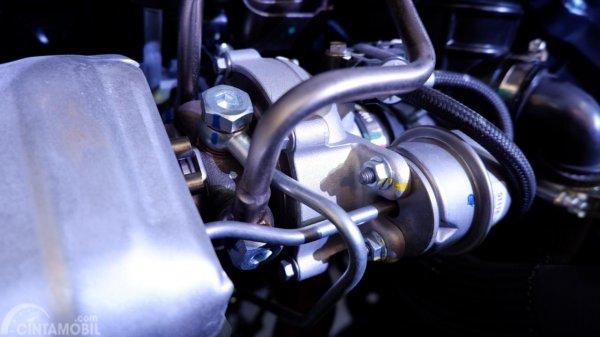 Gambar menunjukkan turbocharger mesin SFG15T pada mobil DFSK Glory i-AUTO 2019