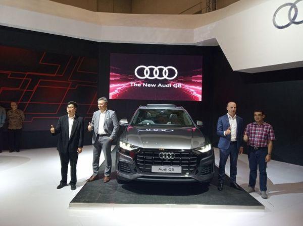 Foto peresmian Audi Q8 pada GIIAS 2019