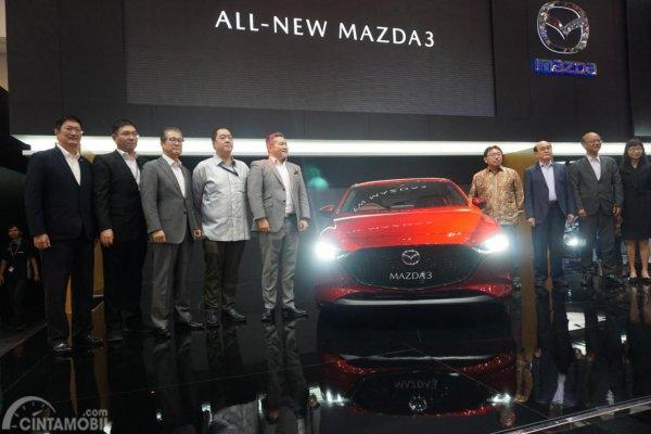peluncuran pertama Mazda 3 di GIIAS 2019