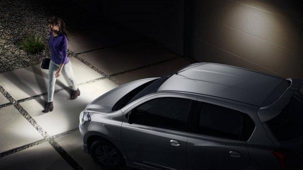Foto fitur Follow Me Home pada Datsun GO Live 2019