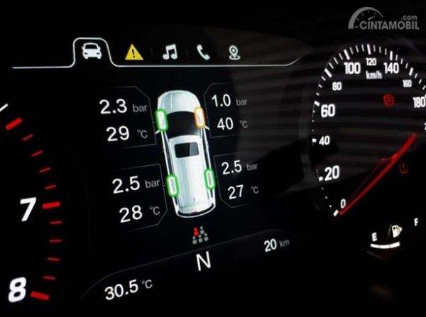 Fitur Wuling Cortez 1.5 C sudah menghadirkan fitur sekelas Tire Pressure Monitoring System