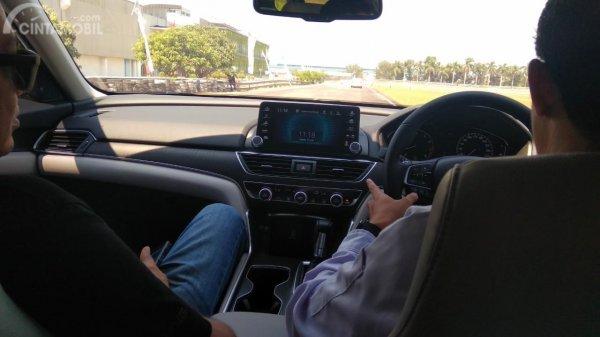 foto tes CMBS Honda Accord media test drive