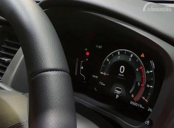 Gambar menunjukkan Spidometer New Mitsubishi Pajero Sport 2019