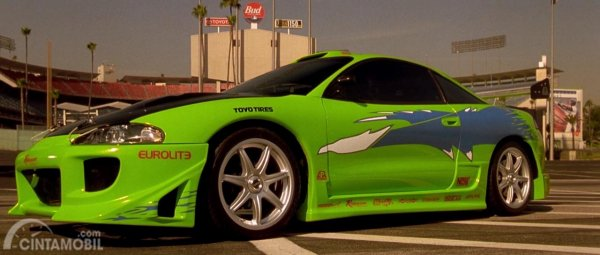 Gambar Menunjukkan Mitsubishi Eclipse 2001 The Fast And The Forious