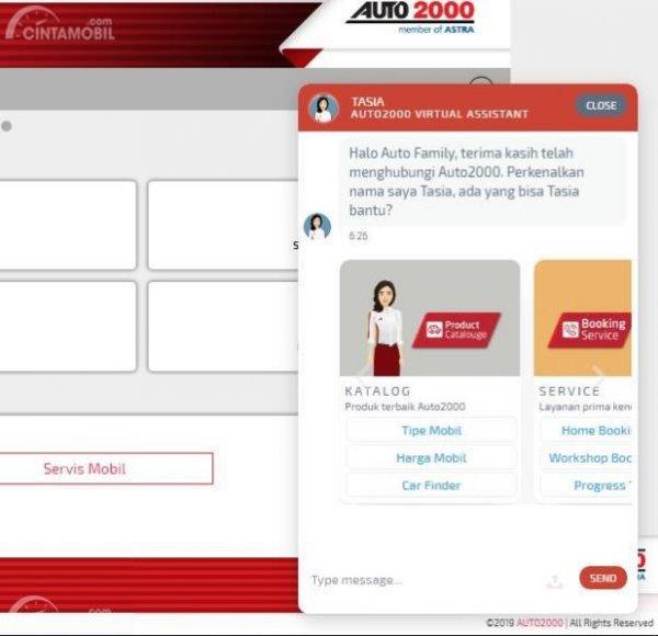 Interface Tasia Auto2000