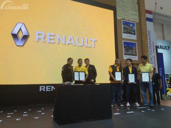 Acara pengukuhan mitra dealer Maxindo Renault Indonesia