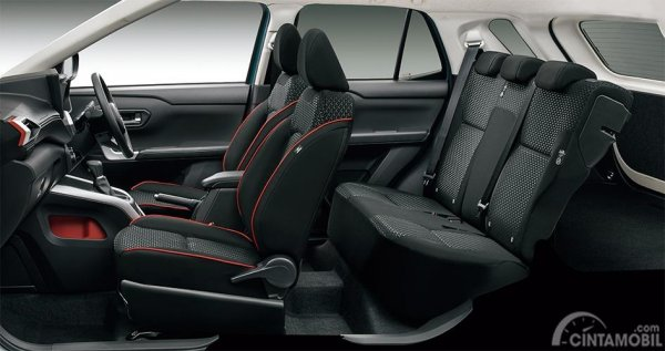 Gambar layout kursi Daihatsu Rocky